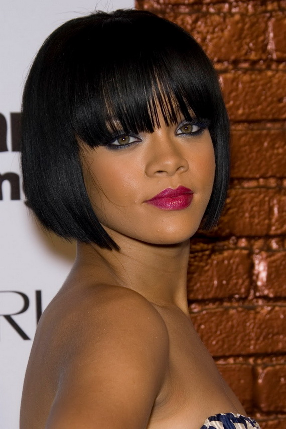 Short Bob Hairstyles for Oval Faces